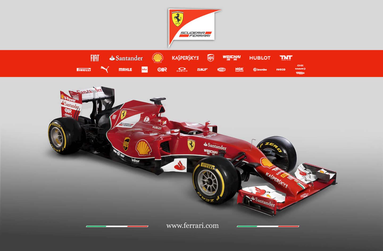 Ferrari F14T - skos