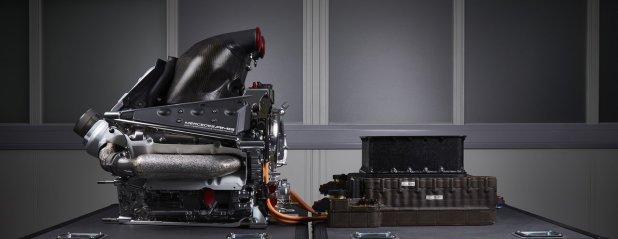 Mercedes V6 Turbo 2014 silnik