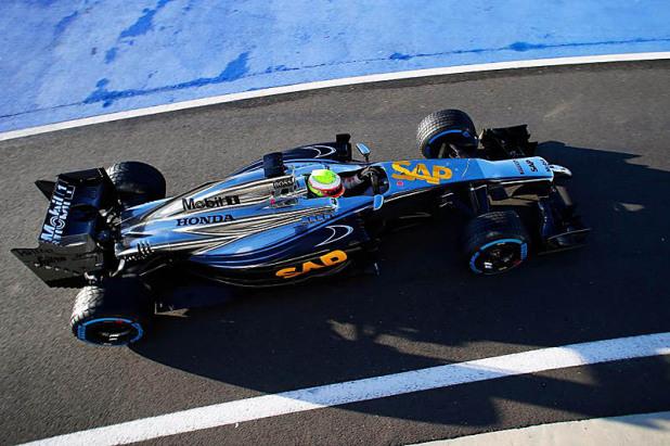 McLaren Honda mp4-29 Silverstone 2014 02