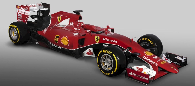 Ferrari SF15-T skos mały