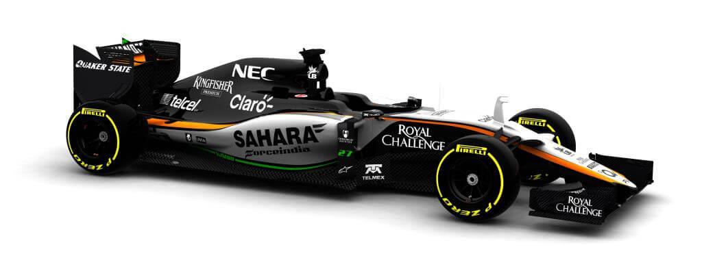 Force India VJM08 2015