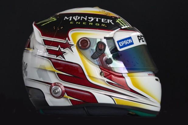 Lewis Hamilton Kask 2015 02
