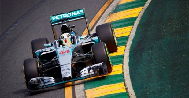 Mercedes Hamilton 2015 Australia
