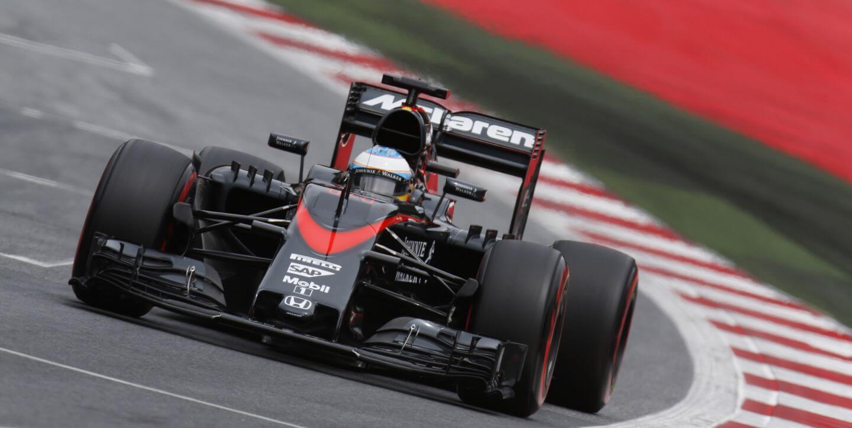 McLaren Honda 2015 Austria Alonso