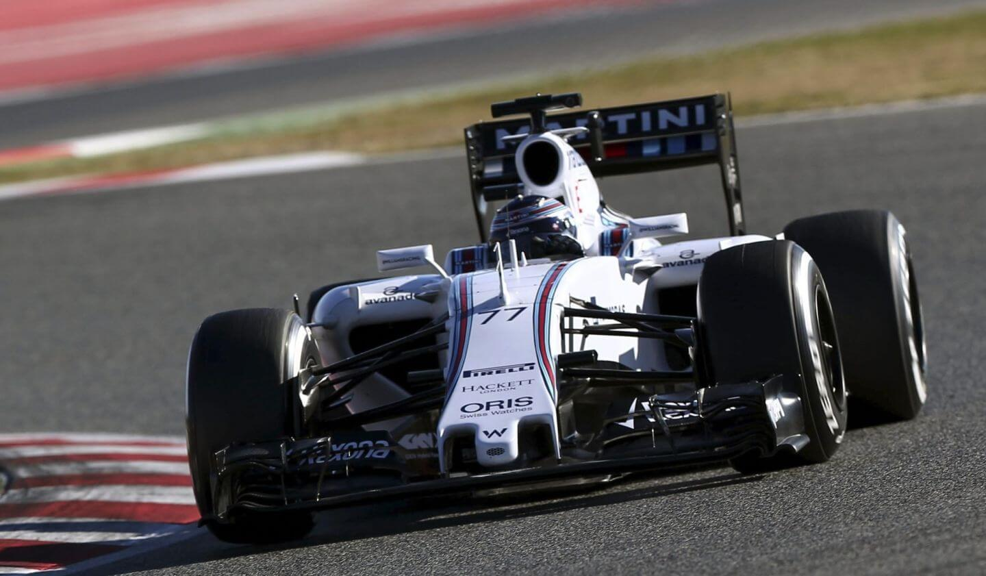Bottas 2015 Williams Barcelona