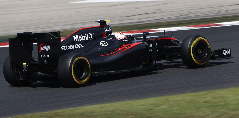 McLaren Honda Wegry Hungaroring 2015