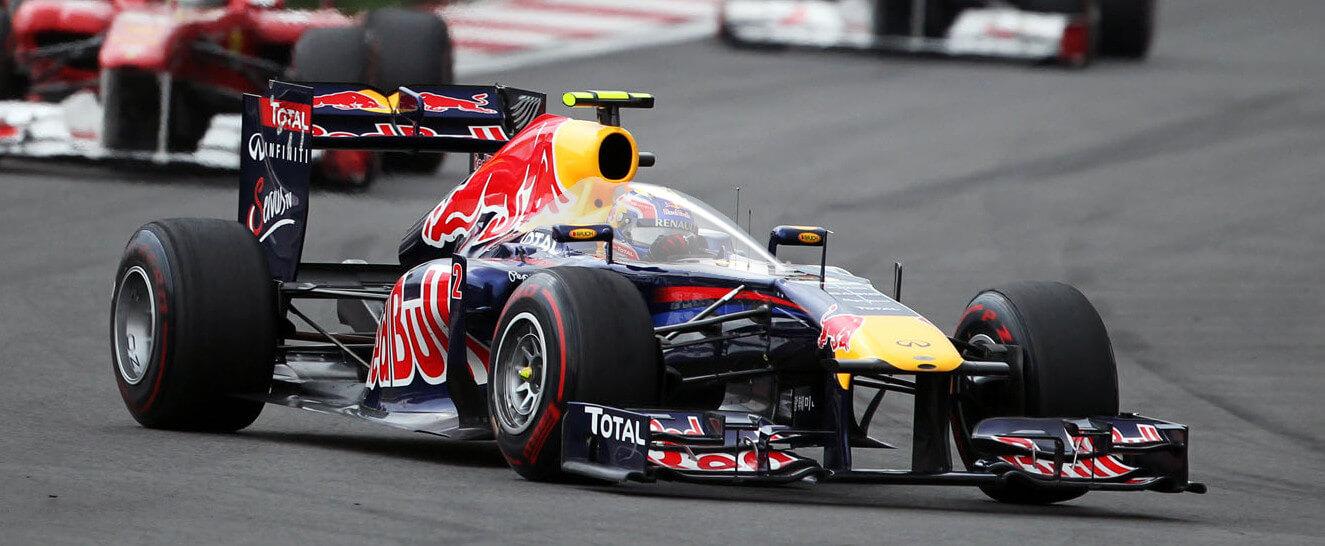 Zamknięty kokpit F1 Red Bull