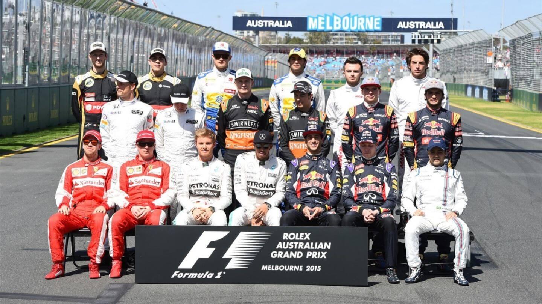 Kierowcy 2015 Australia
