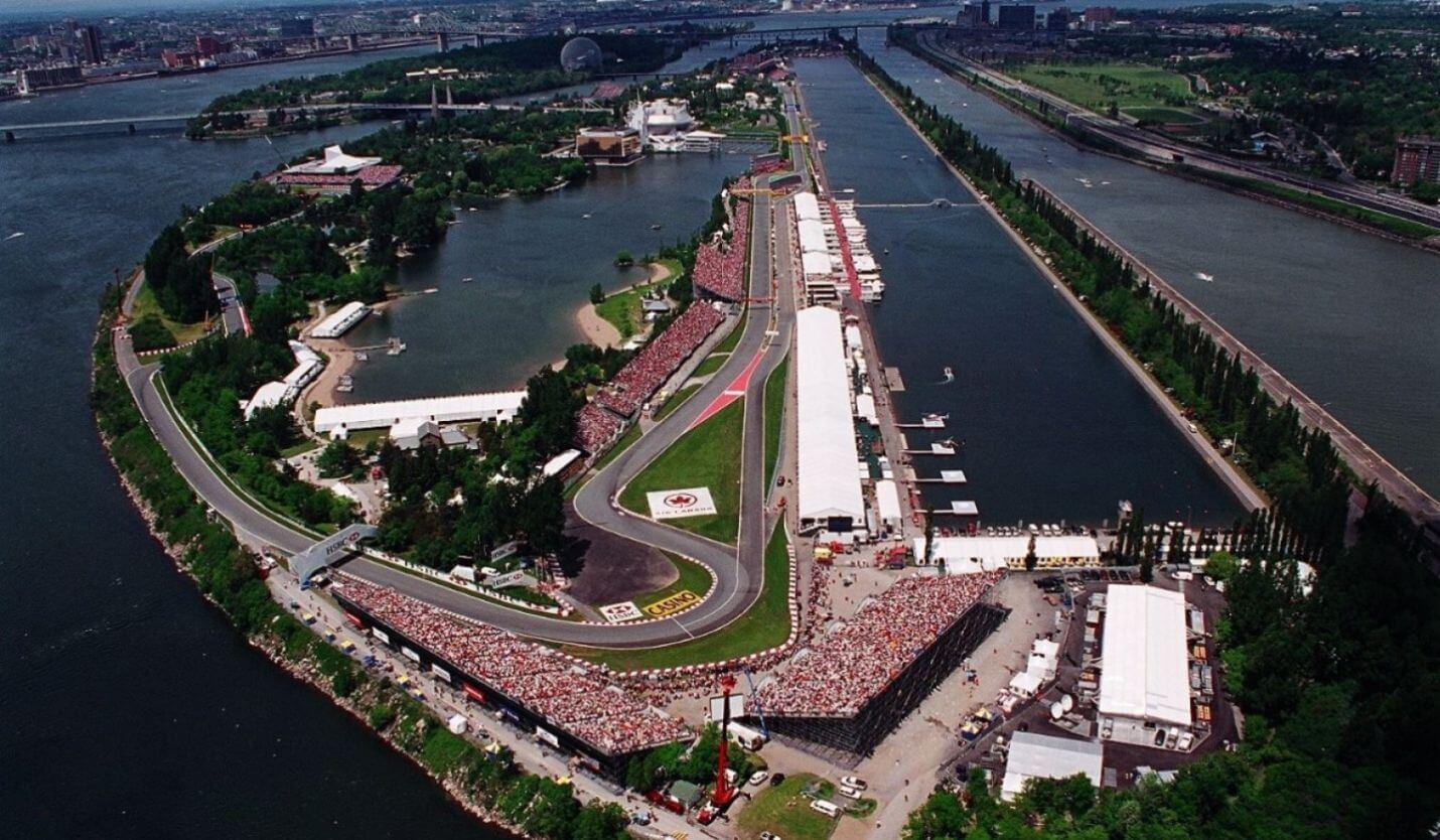 Kanada Circuit Gilles-Villeneuve Tor