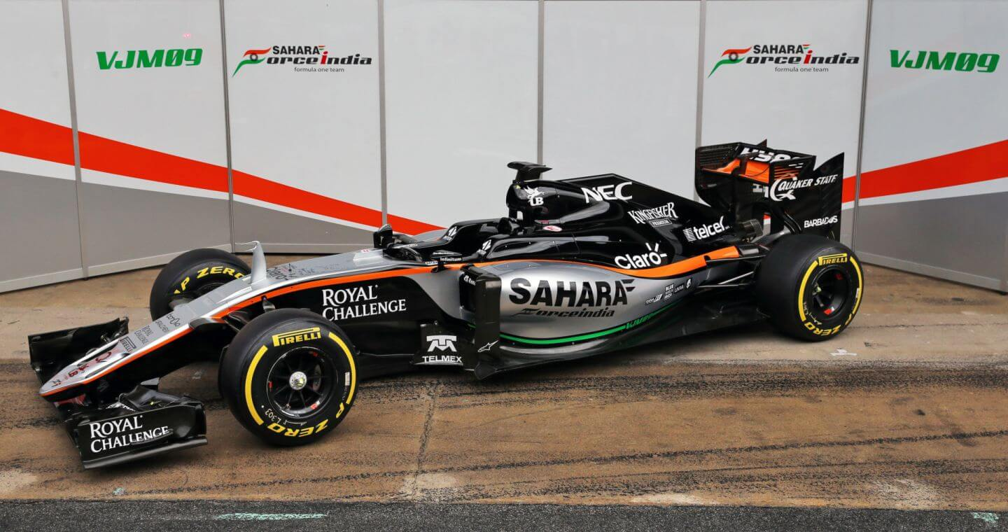 Force India VJM09 prezentacja 1