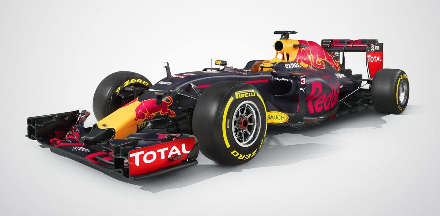 Red Bull RB12 skos 2