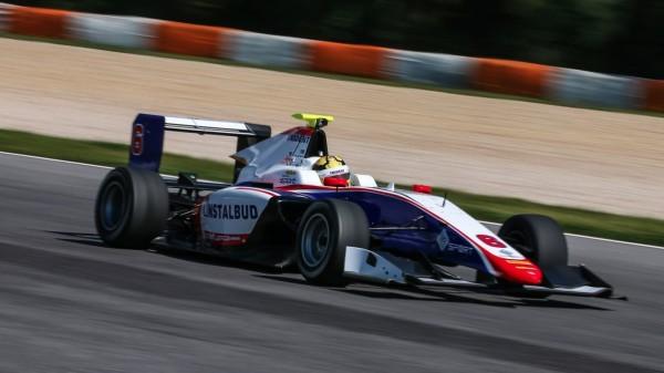 Artur Janosz GP3 Trident Testy 2016