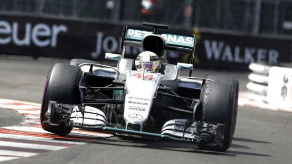 Lewis Hamilton Mercedes Monaco 2016