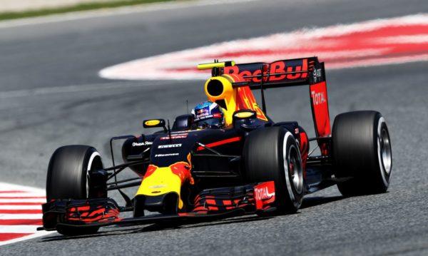 Max Verstappen Red Bull 2016 Barcelona Hiszpania