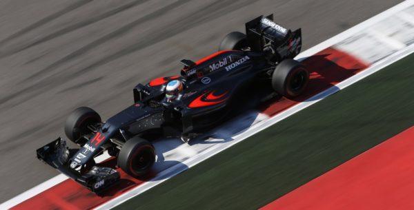 McLaren Alonso Rosja 2016 Soczi