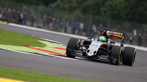 Hulkenberg Force India 2016 Silverstone